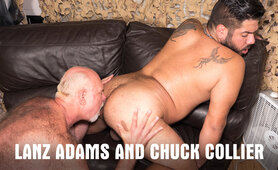 Lanz Adams and Chuck Collier